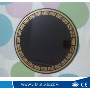 3-12mm Microcrystal Jade Glass/Lacqured Glass/Painted Glass/Stained Glass with CE pictures & photos