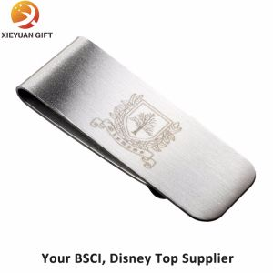 Personalized Laser Engravable Blank Metal Money Clip pictures & photos