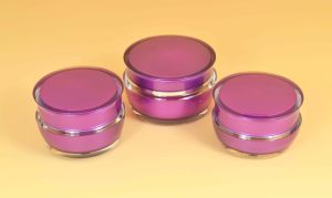 15g, 30g Cosmetic Empty Acrylic Jar for Arc Series pictures & photos