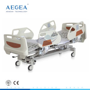 AG-By004 Hot-Sell Durable Hospital ABS CE Approved Patient Electric Bed pictures & photos