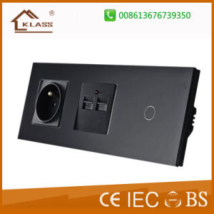 EU/UK Roller Shutter Switch, Window Curtain Touch Switch pictures & photos
