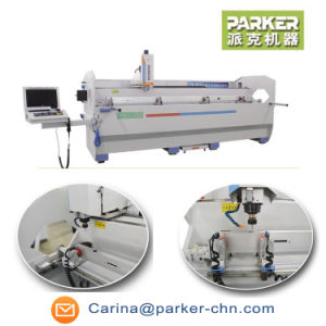 Automatic Aluminum Industry Profile Drilling Milling Tapping Machine pictures & photos