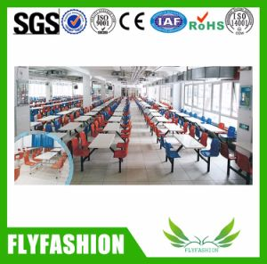 Cheap Price Canteen Workers Dining Table and Chair for Sale pictures & photos