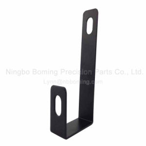 Precision Stamping of Metal Holder in Black Powder Coated pictures & photos