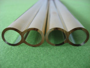 High Purity Gold Plated Quartz Glass Tube pictures & photos