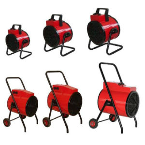 Portable Round Industrial Fan Heater with Stand and Wheels pictures & photos