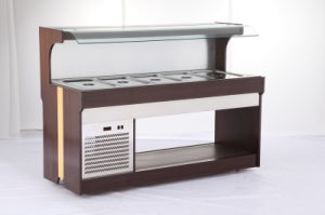 Restaurant Air Cooled Refrigeration Chafing Dish Order Food Showcase Freezer Buffet Refrigerator pictures & photos