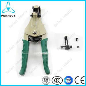 Zinc Alloy Handle and Manganese Automatic Electric Wire Stripper pictures & photos