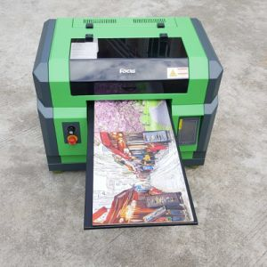 Wood Glass Metal Plastic Rotary Bottle Printing UV Flatbed Printer pictures & photos