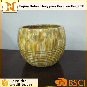 Garden Dcoration Ceramic Planter Marble Flower Pot pictures & photos