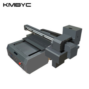Kmbyc A2 Plus Wood Glass Metal Flatbed Printer UV pictures & photos