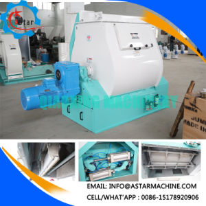 500kg Double Paddle Poultry Ribbon Type Mixer Expert pictures & photos