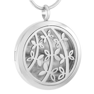 Essential Oil Diffuser Necklaces Sapling Pattern Perfume Aromatherapy Locket Pendant pictures & photos