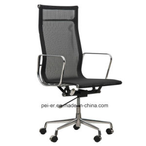 Genuine Leather Aluminium Office Executive Manager Chair (PE-A02) pictures & photos