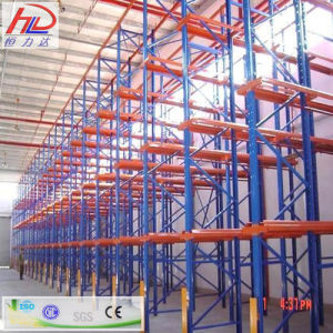 Drive-in Drive-Thru Warehouse Rack Systems pictures & photos