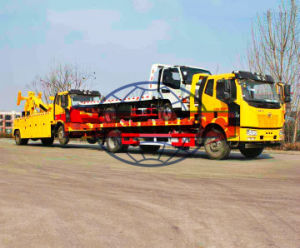 FAW 10 Tons Heavy Road Towing Truck, Heavy duty wrecker Truck pictures & photos