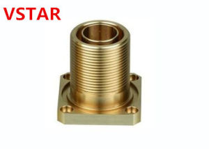 CNC Machining Brass Auto Parts for Connector pictures & photos