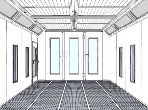 Good Quality Car Spray Paint Booth with Australian Standards pictures & photos