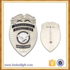 Gold Silver Metal Badges with Your Logo pictures & photos