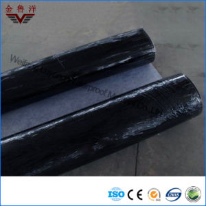 Polyethylene Polypropylene Compound Self-Adhesive Waterproofing Material, PP+PE+PP Self-Adhesive Waterproof Membrane
