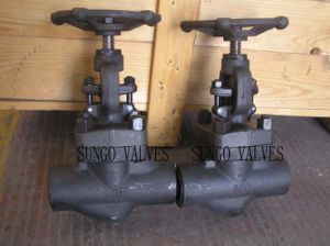 Forged Steel Handwheel Globe Valve pictures & photos