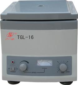 High Speed Centrifuge (TGL-16/TGL-16A/TGL-16B)