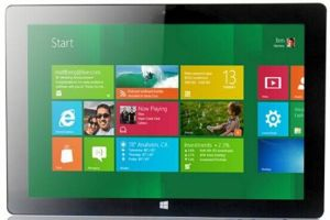 10.1inch IPS Screen Intel Bay Trail-T Quad Core 32GB ROM Windows8 Tablet PC
