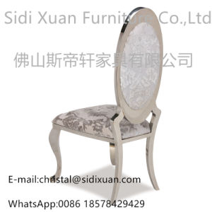 Hot Selling Event Style Hotel Banquet Chair Silver Stainless Steel Wedding Dining Chair pictures & photos