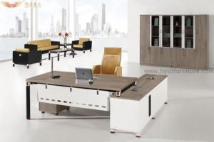 Fsc Certified Approved by SGS Well-Known Brand Simple Style High Quality Office Desk (HY-Z20) pictures & photos