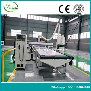Kitchen Cabinet Making Auto Feeding Wood CNC Router pictures & photos