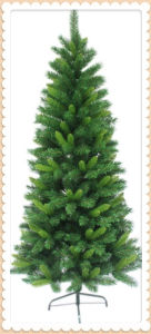 Slim Designed Non-Lighting Christmas Tree (S653)