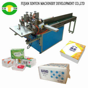 Now Sell Facial Tissue Packaging Machine Semi Auto Face Tissue Bag Packing Machine pictures & photos