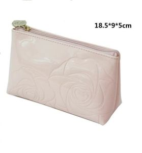 PU PVC Leather Vanity Cosmetic Bag for Lady pictures & photos