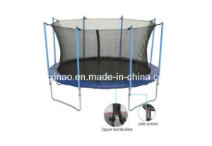 12ft Gymnastics Trampoline with Enclosure (XA1058)