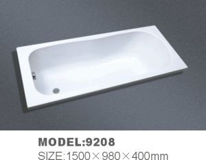 Acrylie Freestangding Bathtub (9208) with RoHS