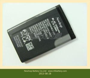 Cell Phone Battery Bl-5c for Nokia 3.7V 1100mAh