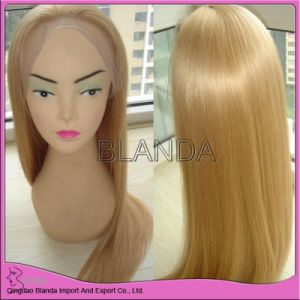 Virgin Swiss Full Lace Human Wig/Silk Base Wig (EM075)