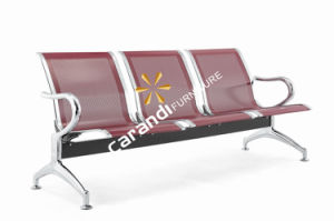 Maroon Color Metal Airport Waiting Chair (Rd 820)