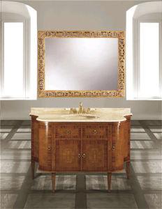 Solid Wood Bathroom Cabinet Vanity Sanitary Ware (h)