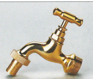 Garden Tap Polished Brass Bibcock pictures & photos