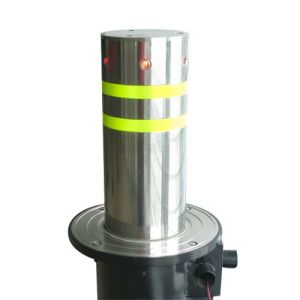 Pneumatic-Automatic Bollard Made of Steel or Stainless Steel Material
