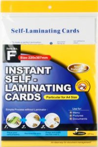 Instant Self-Laminating Name Card (Item F) pictures & photos