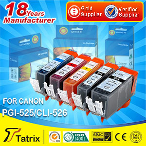Ink Cartridge Pgi-525 Cli-525 Pgi-520 Cli-521/ Pgi-550 Cli- 551 Comptible Cartridges/ for Canon Pgi-650 Cli-651 Ink Cartridges
