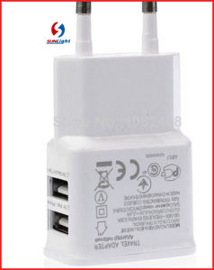 Dual USB Travel Charger for Samsung & iPhone pictures & photos