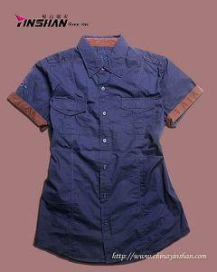 Men′s Casual Shirt / Men′s Cotton Shirt (MX10-0350)