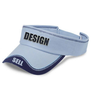 Sun Visor Hat/Sun Visor Cap with Embroidery