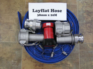 High Pressure PVC Layflat Irrigation Hose with CE Certificate pictures & photos