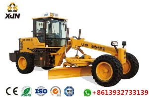 120HP Xjn Brand Mini Motor Grader with Front Dozer and Rear Ripper pictures & photos