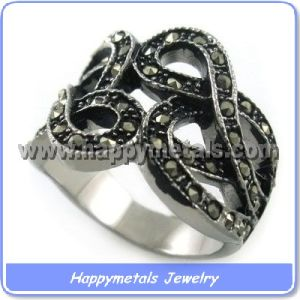 Fashion Mens Casting Stainless Steel Rings (R8772)