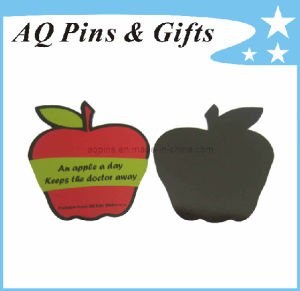 High Quality Soft PVC Fridge Magnet with Apple Shape (FM-03) pictures & photos
